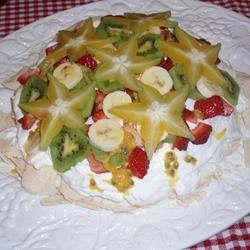 Pavlova Recipe - My grandmother's recipe from New Zealand for the famous Pavlova.