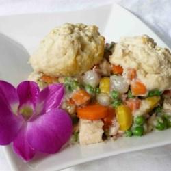 Chicken Biscuit Pie