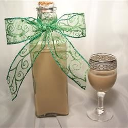 Homemade Creme Liqueur Recipe - Strictly for grown ups, this recipe smooth and creamy beverage is made with either almond or coffee liqueur.