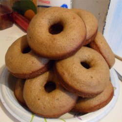 Baked Doughnuts Recipe - These aren't like deep-fried doughnuts, but they are a yummy breakfast treat! Shape them however you like - by any other shape, they'll taste as sweet!