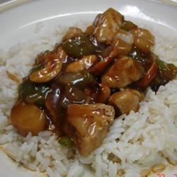 Cashew Chicken with Water Chestnuts Recipe - Cashews and water chestnuts combine with chicken in this yummy and easy stir fry.