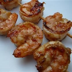 Grilled Shrimp and Apple Skewers