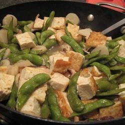 Braised Tofu Recipe - I love the braised tofu served at Chinese restaurants, but at home I like to make it healthier (without the deep frying). In my version, I use a lot of vegetables to make it more filling for a lot less calories. This dish is good both over rice or stand alone.