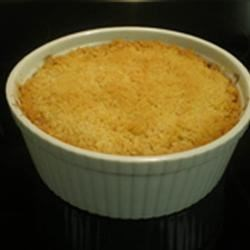 Baked Pineapple Recipe - This is a wonderful side dish to add a little something special to green beans and mashed potatoes.  It is so delicious you will think you could eat it for dessert. Originally submitted to ThanksgivingRecipe.com.