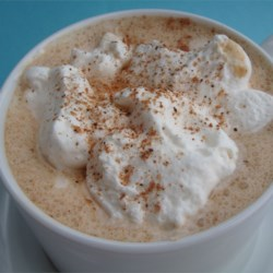 Eggnog Latte Recipe - It wouldn't be Christmas without one (or several!). If you have a home espresso machine, this is a great holiday coffee treat.