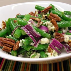 Green Bean Blue Cheese Salad