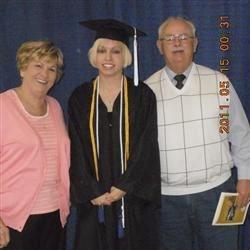 Husband, Myself, and Grandaughter