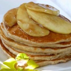 Mom's Applesauce Pancakes