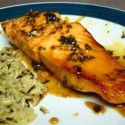 Grilled Cilantro Salmon Recipe - Summer is for salmon on the grill! This sensational salmon marinade combines honey, lime, garlic, and cilantro.
