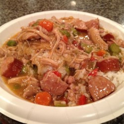 Cajun Chicken and Sausage Gumbo