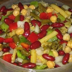 Super Duper Bean Salad