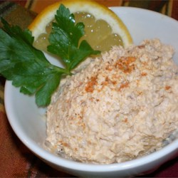 Smoked Fish Dip Recipe - This recipe for smoked fish dip is world class, puts most others to shame, and is served in several prominent restaurants on the gulf coast of Florida.  We used smoked whitefish, well boned, but any other smoked fish should work.  Serve with crackers, lemon or lime wedges, and capers.