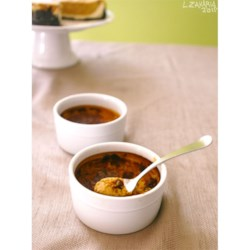 Pumpkin Brulee Recipe - Serve this delicious fall creme brulee in small pumpkins for fantastic presentation!