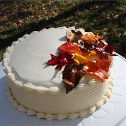 Pumpkin Cake III with Cream Cheese Frosting II