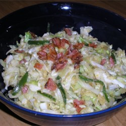 Fried Cabbage Texas Style Recipe - This cabbage is sauteed with onion and jalapeno, and gets an added kick from a pinch of cayenne pepper. A little spicy , but works well with any Southern meal!