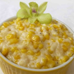 Cream Corn Like No Other Recipe and Video - This is NOTHING like canned creamed corn!  My husband is not a fan of corn or creamed dishes, but he thinks this is great.  Easy and quick to prepare  and is an especially delicious side dish for chicken or pork.  Everyone always asks for the recipe.