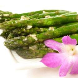 Asparagus with Parmesan Crust
