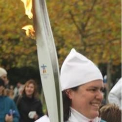 carrying the torch