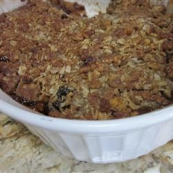 Apple Mincemeat Crumble Recipe - This is an excellent, festive twist on an old favorite!