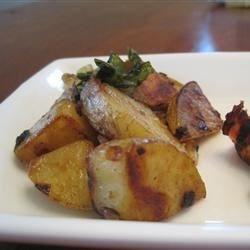 Potato Basil Scramble