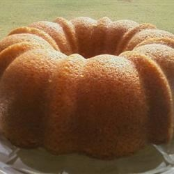 Brown Sugar Pound Cake I Recipe - A wonderful blend of brown sugar and pecans in this old-fashioned pound cake.