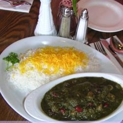 """Persian Herb Stew- """"Ghormeh Sabzi"""""""
