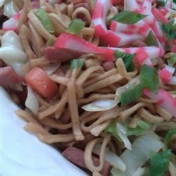 Hawaiian style fried noodles