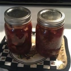 Cranberry Chutney III Recipe - A sweet chutney, perfect for Thanksgiving and Christmas. It's delicious on meats.