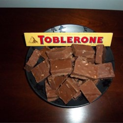 Alex's Toblerone Fudge