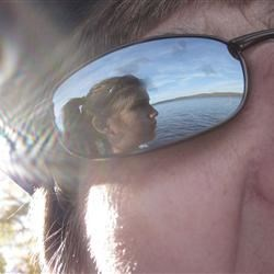 My Reflection in My Mother' Sunglasses