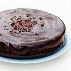 Moist Vegan Chocolate Cake with Chocolate Glaze