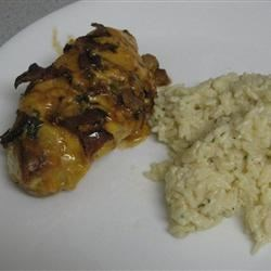 anniversary chicken with parmesan rice