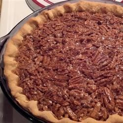 Pecan Pie Recipe - This is a wonderfully rich Southern pie recipe that is the best I've tried!
