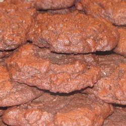 Chocolate Dark Chocolate Chip Cookies