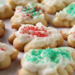 Butter Icing for Cookies Recipe - Perfect for cookies - not too soft - not too hard - just right.