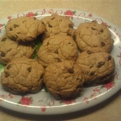 Chocolate chip chewy cookie