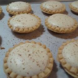 Eggnog Cheesecake Tartlet