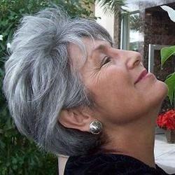 enjoying Florida flowers