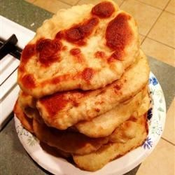 Stack of Naan