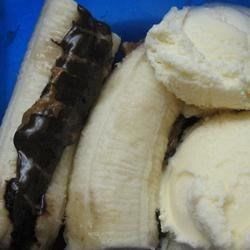 Peanut Butter Banana Melties Recipe - Bananas are filled with peanut butter and chocolate, then roasted in the coals of a campfire!