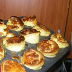 Karrie's Yorkshire Pudding Recipe - These airy morsels are a delightful side dish for roast beef or any other juicy entree.