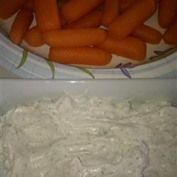 Dill Dip I Recipe - During the holidays, use some food coloring to make this dip extra festive.