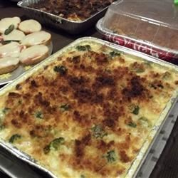 Cauliflower and Broccoli Bake