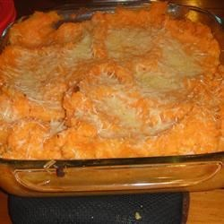 Rosemary Mashed Potatoes and Yams Recipe - A twist on the traditional mashed potatoes.