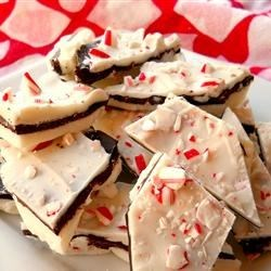 Layered Peppermint Crunch Bark Recipes — Dishmaps