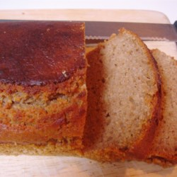 Yogurt Whole Wheat Quick Bread  Recipe - This started out as muffins but I found that it can be baked as bread too. The lemon juice gives it a nice bite and the whole wheat bread gives it a great nutty flavor.