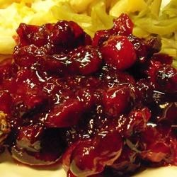 Cranberry Sauce II Recipe - This cranberry sauce is great -- it's tasty and incredibly simple to make!