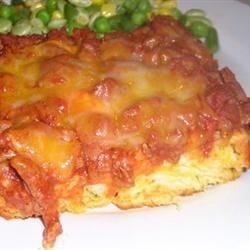 Not so Sloppy Joe Casserole