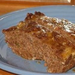Easy Salsa Meatloaf Recipe - A crowd pleasing meatloaf, may be made with ground beef or ground turkey. Both are yummy.