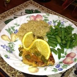 Orange Caper Chicken
